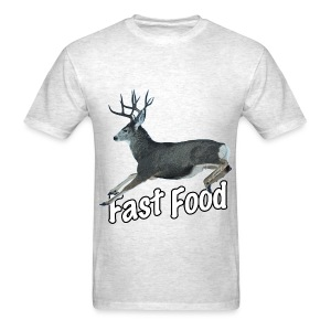 Fast Food Buck Deer - Men's T-Shirt