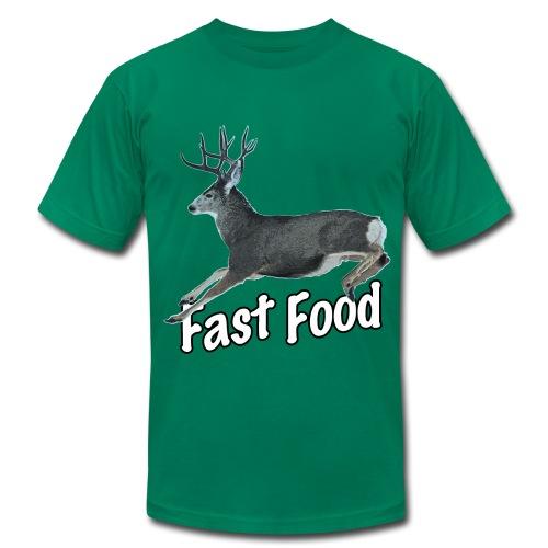 Fast Food Buck Deer - Men's Fine Jersey T-Shirt
