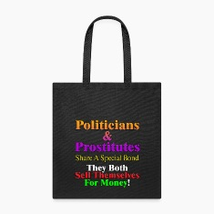 Politicians & Prostitutes Tote Bag