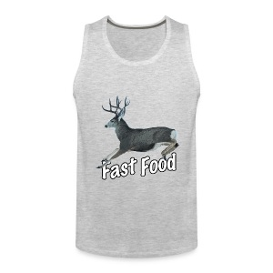 Fast Food Buck Deer - Men's Premium Tank