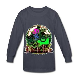 BMX live to ride - Kids' Long Sleeve T-Shirt