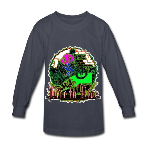 BMX live to ride - Kids' Long Sleeve T-Shirt