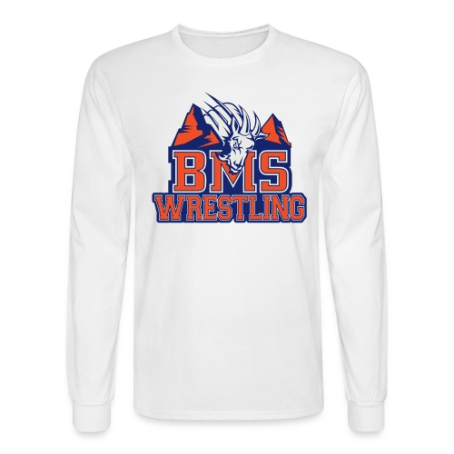 BMS Wrestling Long Sleeve - Men's Long Sleeve T-Shirt