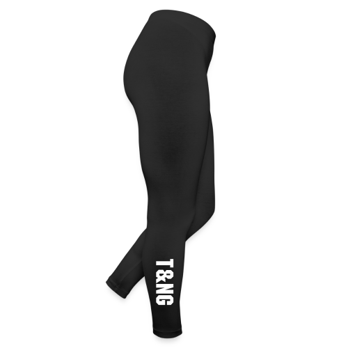Women's Black American Apparel Leggings T&N Gaming - Leggings
