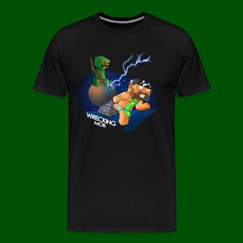 Wrecking Mob Men's T-Shirt - Men's Premium T-Shirt