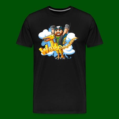 Alphonse and Me go Weeeeee! Men's T-Shirt - Men's Premium T-Shirt