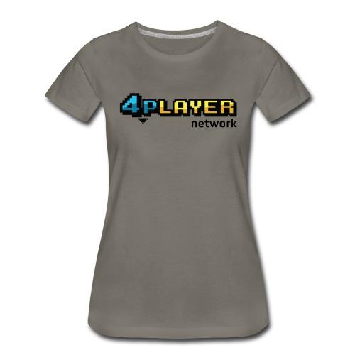 4PlayerNetwork Logo Women's T Shirt - Women's Premium T-Shirt