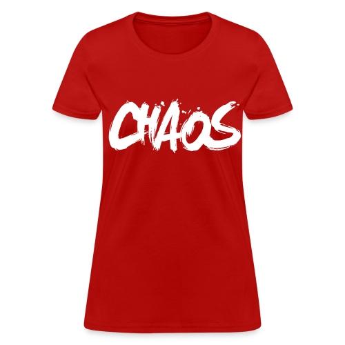 Chaos Womens T-Shirt - Women's T-Shirt