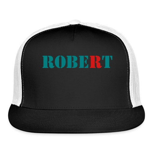 ROBERT HAT - Trucker Cap