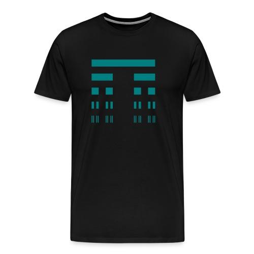 Cantor Set Shirt - Men's Premium T-Shirt