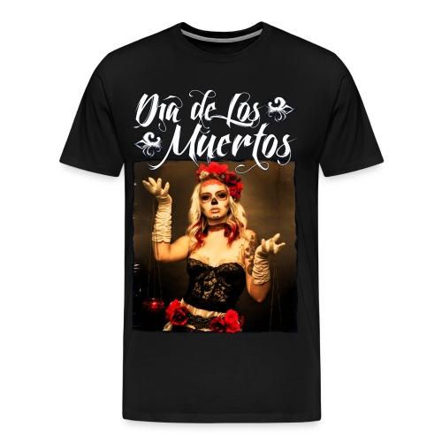 Dia de Los Muertos 02 - Men's Premium T-Shirt