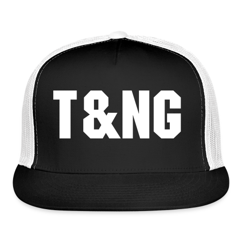 Black T&NG Hat - Trucker Cap