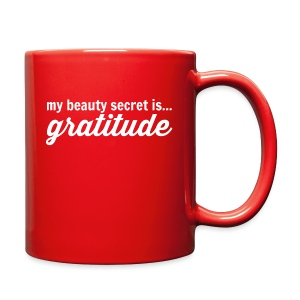 My Beauty Secret is .. Gratitude - Full Color Mug