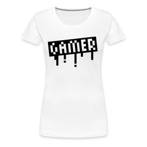 Gamer shirt - Women's Premium T-Shirt