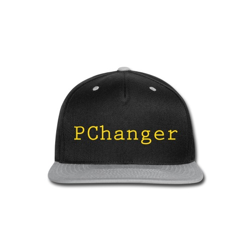 PChanger Snapback (Black + Yellow) - Snap-back Baseball Cap