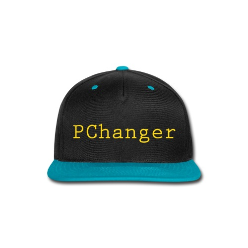 PChanger Snapback (Black + Blue) - Snap-back Baseball Cap