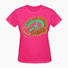 Peace Love Nursing Women's T-Shirts