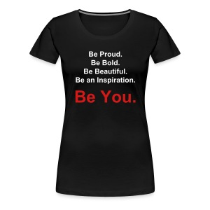 You(nique) Motto Red - Women's Premium T-Shirt