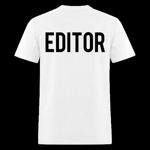 Team T-Shirt (TGIR) Editor - Men's T-Shirt