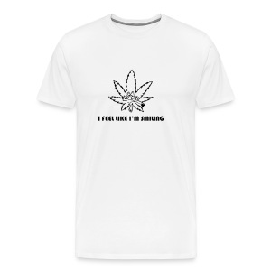 Stony Weed Leaf is smiling - Men's Premium T-Shirt