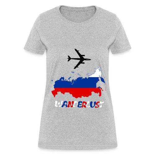 Russian wanderlust T - Women's T-Shirt
