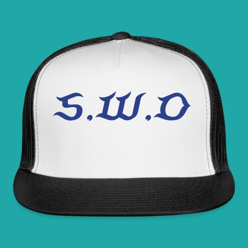S,W,O Fitted Hat - Trucker Cap