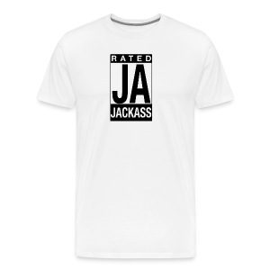 Rated Tee - Jackass - Men's Premium T-Shirt