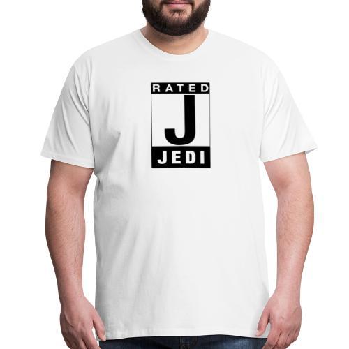 Rated Tee - Jedi - Men's Premium T-Shirt