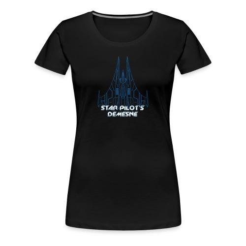Star Pilot's Demesne Ladies Title Tee - Women's Premium T-Shirt