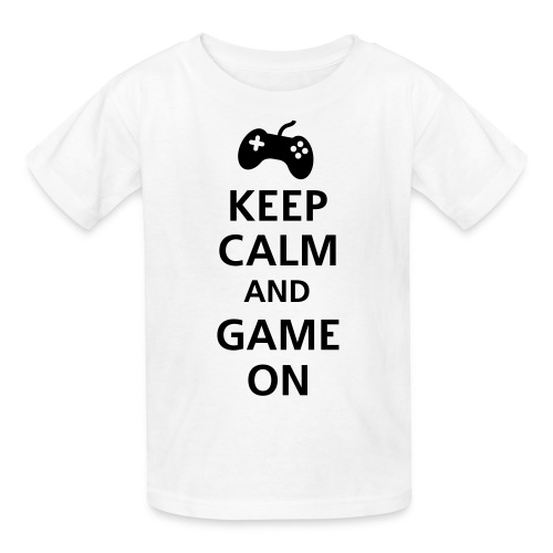 Kids keep-calm-and-game-on - Kids' T-Shirt