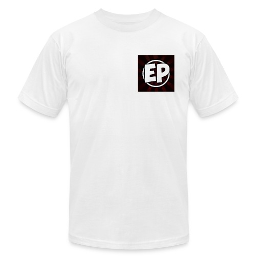 Ewick Plays Logo Small T-Shirt White - Men's Fine Jersey T-Shirt