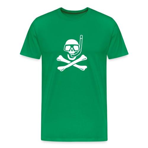 Jolly Diver green - Men's Premium T-Shirt