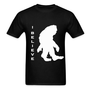 Bigfoot I believe w - Men's T-Shirt