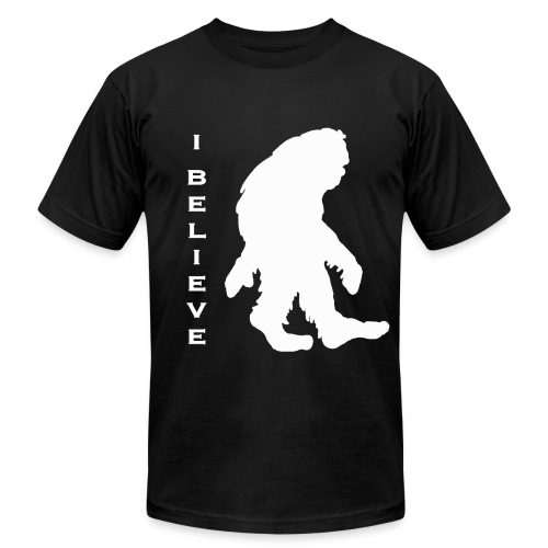 Bigfoot I believe w - Men's Fine Jersey T-Shirt