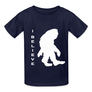 Bigfoot I believe w - Kids' T-Shirt
