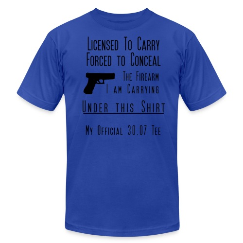 Forced to Conceal Open Carry Tee - Men's Fine Jersey T-Shirt