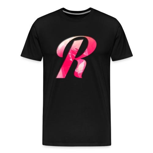 Big R Tee (Customizable Color) - Men's Premium T-Shirt
