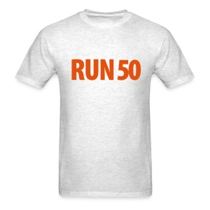 Run 50 Map Back T (M) - Men's T-Shirt
