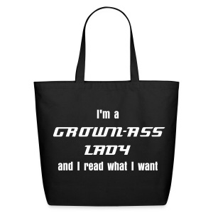 Read what I want - Tote - Eco-Friendly Cotton Tote
