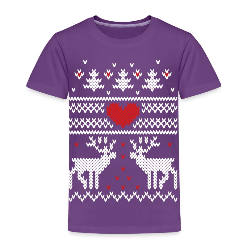 winter knitting pattern v T-Shirt Spreadshirt