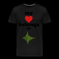 T-Shirts ~ Men's Premium T-Shirt ~ My Heart Belongs to...