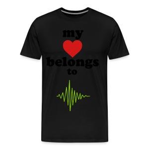 My Heart Belongs to...  - Men's Premium T-Shirt