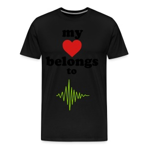 My Heart Belongs to...  - Men's Premium T-Shirt