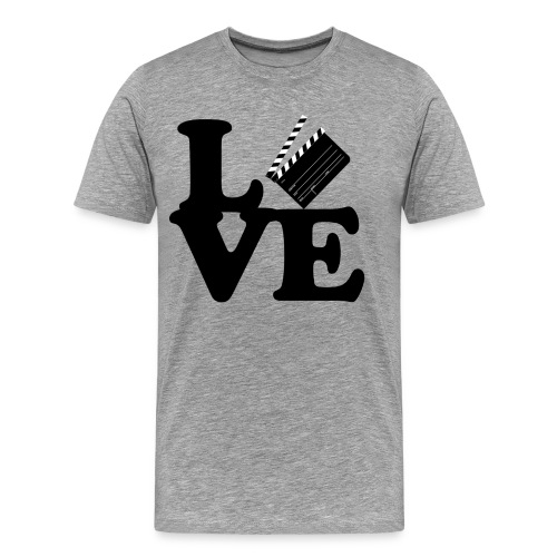 I LOVE FILM - MEN TEE - Men's Premium T-Shirt