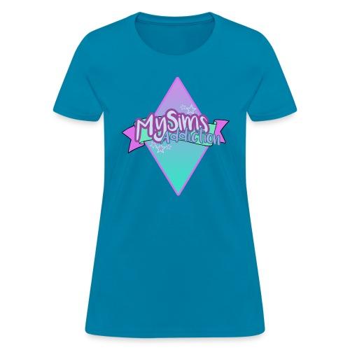 Women's MySimsAddiction T-Shirt - Women's T-Shirt