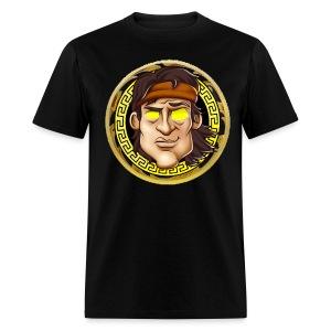 Men's Premium Golden Rambo Designer T-Shirt - Men's T-Shirt