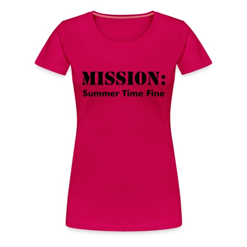 Mission Ladies Tee - Women's Premium T-Shirt