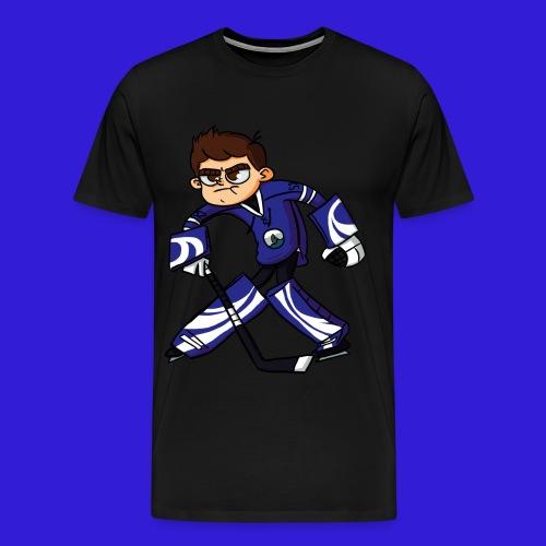 Dorsal Finn Goalie T-Shirt - Men's Premium T-Shirt