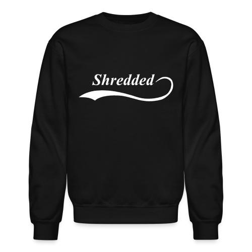 Shredded Crewneck Sweatshirt - Crewneck Sweatshirt