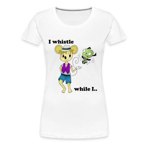 TGP Follow Alert Shirt (Women) - Women's Premium T-Shirt